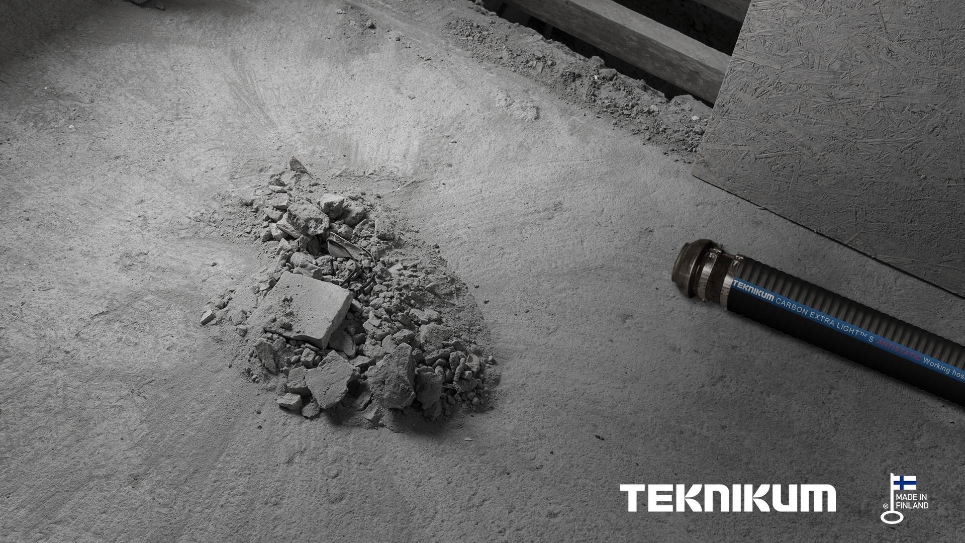 Teknikum CARBON EXTRA LIGHT S Antistatic for industrial vacuum cleaning