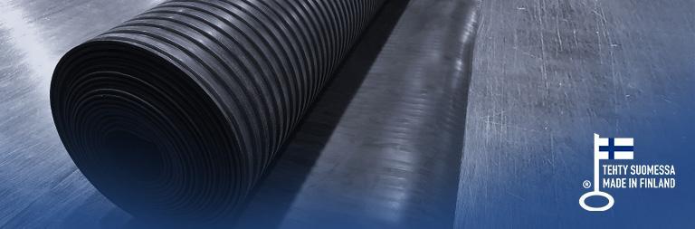 Teknikum Salematto Ribbed rubber mat